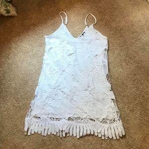 Express White Mini Dress